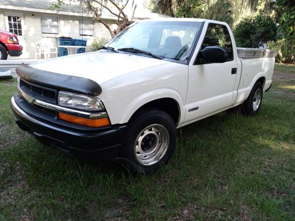 Photo 2002 Chevy S-10 - - $3,200 (Fort Meade- polk county)