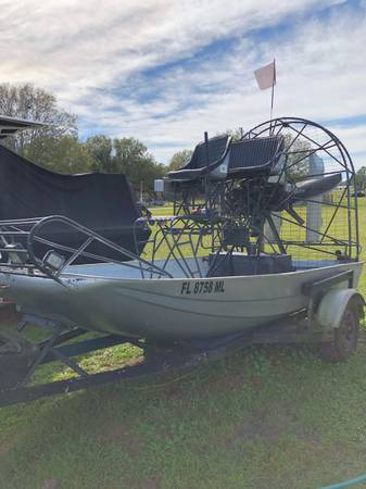Photo 2003 Airboat 12 Cutdown Laser Hull w 160 Lycoming - $5800 (Avon Park)