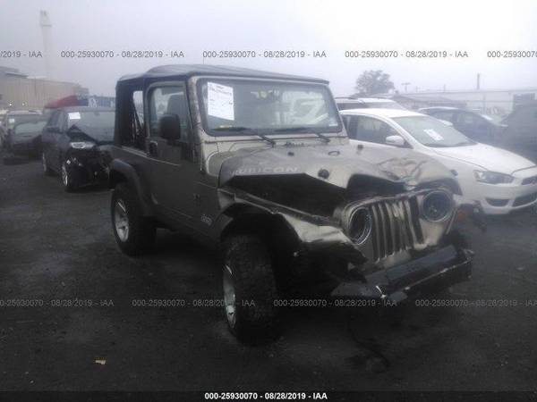 Photo 2003 Jeep Wrangler TJ Rubicon For Parts - $1 (Lakeland)