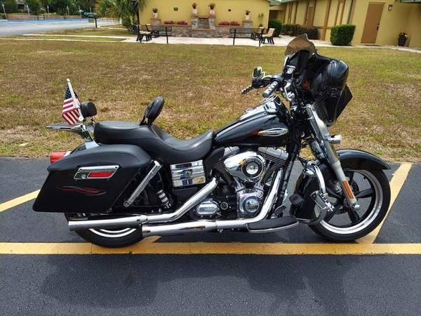 Photo 2012 Harley Davidson Dyna Switchback - $10,900 (N. Lakeland)