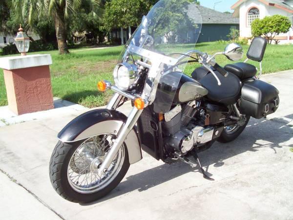 Photo 2012 Honda Shadow Aero Mint Condition 1890 miles - $3,999 (New Port Richey)