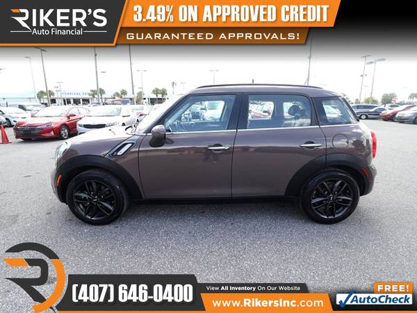 Photo 2014 Mini Cooper Countryman S FOR ONLY $145mo - $145 (Rikers Auto Financial)