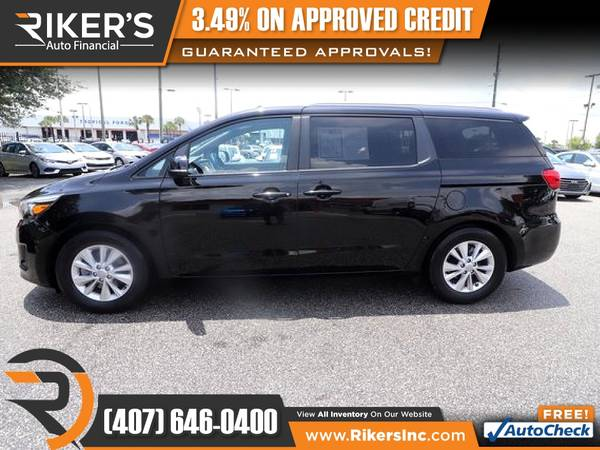 Photo 2016 KIA Sedona LX FOR ONLY $179 mo - $179 (Rikers Auto Financial)