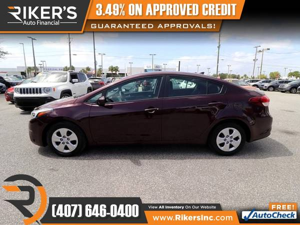 Photo 2017 KIA Forte LX FOR ONLY $159 mo - $159 (Rikers Auto Financial)