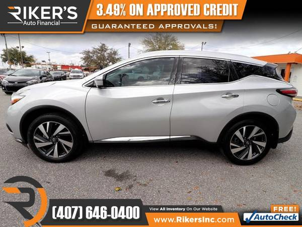 Photo 2017 Nissan Murano Platinum FOR ONLY $265 mo - $265 (Rikers Auto Financial)