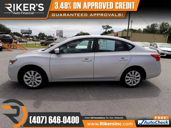 Photo 2017 Nissan Sentra S FOR ONLY $139 mo - $139 (Rikers Auto Financial)