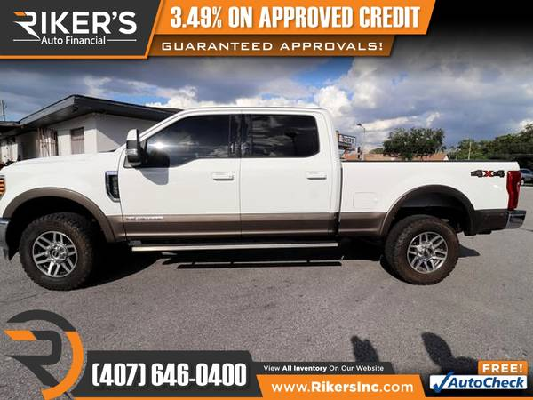Photo 2019 Ford Super Duty F250 F 250 F-250 Pickup Super Duty F - $809 (Rikers Auto Financial)