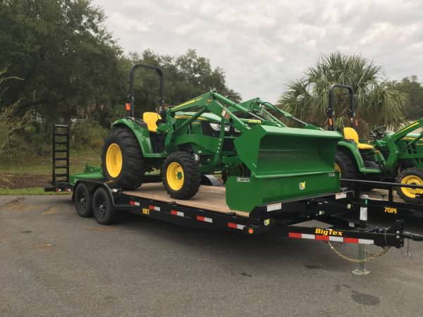 Photo 2019 JOHN DEERE 4044M TRAILER PACKAGE........SE HABLA ESPANOL......... - $35690 (CALL FRANK AT 352-651-2153)