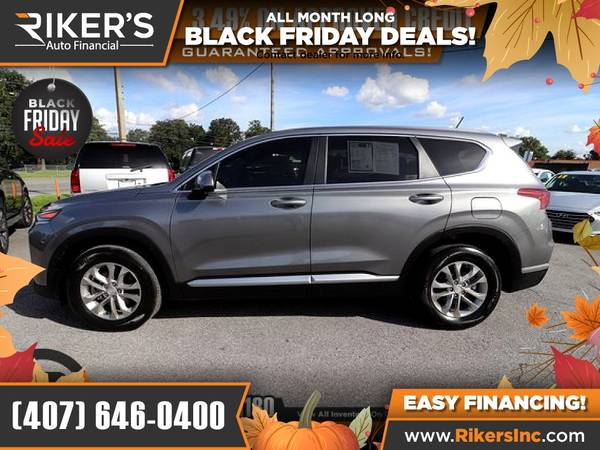 Photo $239mo - 2019 Hyundai Santa Fe SE 2.4 - 100 Approved - $239 (Rikers Auto Financial)