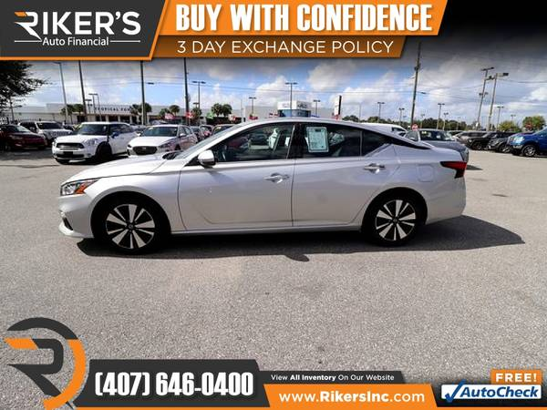 Photo $239mo - 2019 Nissan Altima 2.5 SL - 100 Approved - $239 (Rikers Auto Financial)