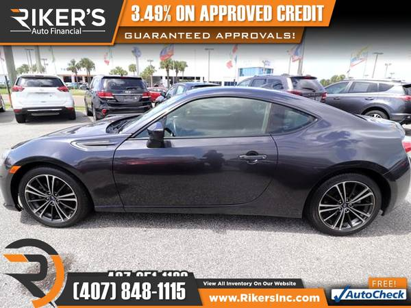 Photo $246mo - 2016 Subaru BRZ Premium - 100 Approved - $246 (Rikers Auto Financial)