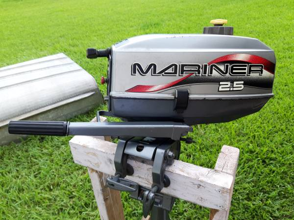Photo 2.5 HP MARINER Outboard with 1239 Al. Boat - $725 (Lakeland)