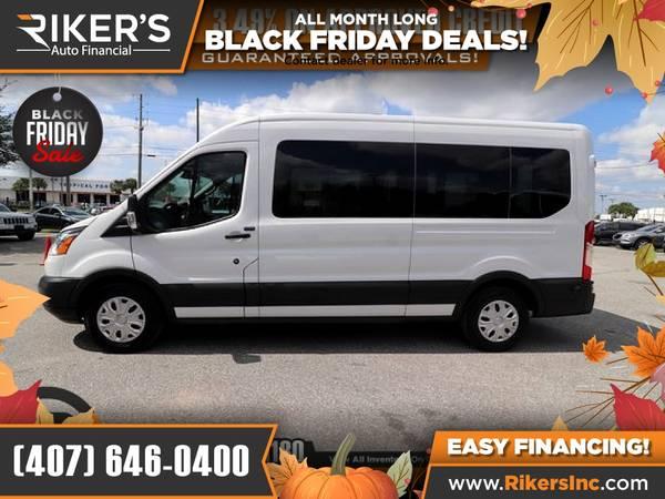Photo $308mo - 2016 Ford Transit350 Transit 350 Transit-350 XLT Wa - $308 (Rikers Auto Financial)