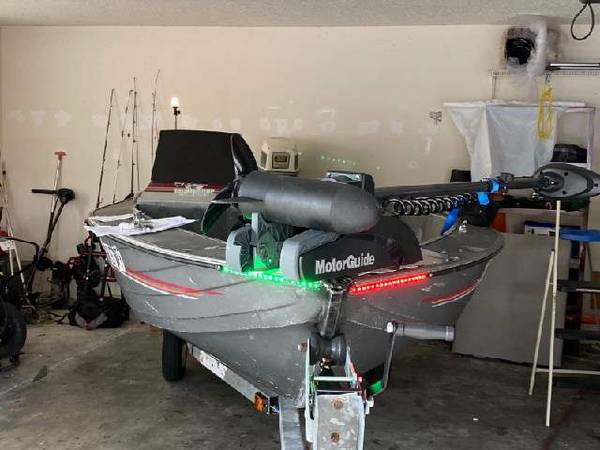 Photo 87 16390 Fisher Alum Bass Boat - $3,100 (Polk City)