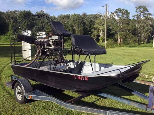 Photo Air Boat FOR SALE - $6800 (OkeechobeeYeehaw Junction)