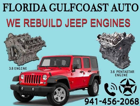 Photo Dodge Jeep Chrysler Ram Engines Rebuild  Repairs (We Finance Engines)