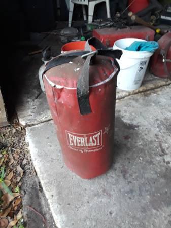 Photo Everlast heavy punching bag - $25 (Mulberry)