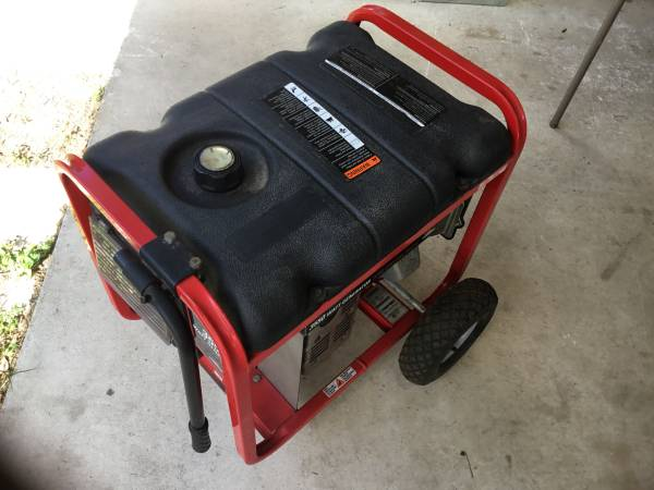 Photo Generator 3550 watt Troybilt - $350 (Eagle Lake)
