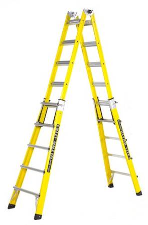 Photo Little Giant Fiberglass Multi-Use Model 22 19-ft All-in-One Ladder - $275 (lakeland fl)