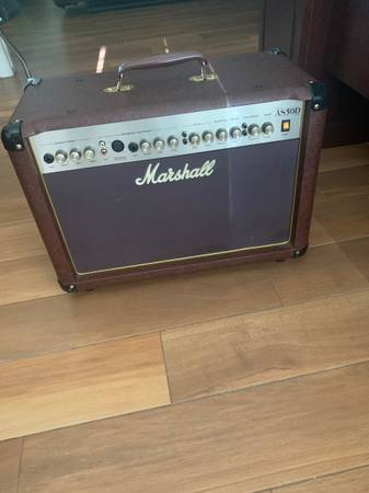 Photo Marshall AS50D Amp - $225 (Plant City)