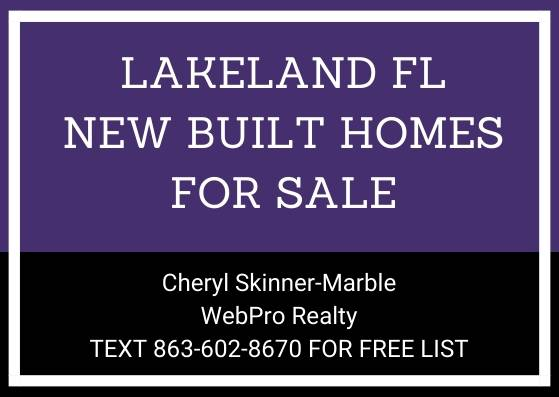 Photo New Built Homes for Sale (Lakeland 33813 33810)