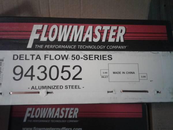 Photo New in box flowmaster delta series 50 mufflers pair of 2 (East LAKE WALES fl)
