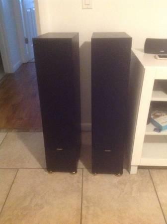 Photo Paradigm Floor Speakers - $450 (Winter Haven)