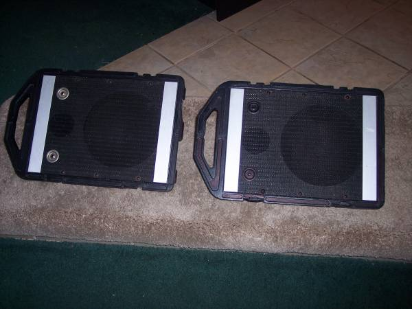 Photo Peavey vintage Mini Monitors VG condition - $75 (Mulberry)