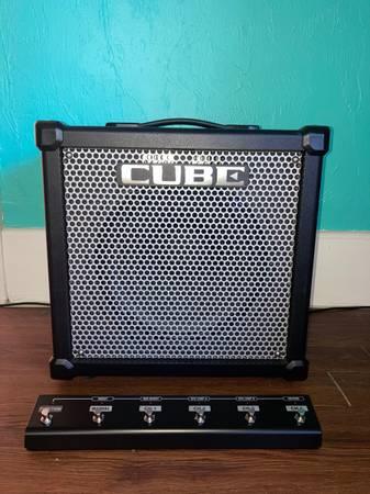 Roland Cube 80GX 1x12 Plus GA-FC Footswitch - $375 (Winter Haven)