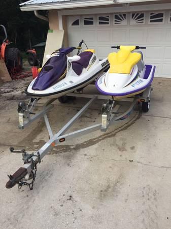 Photo Seadoos and trailer - $2500 (Lake Alfred, FL)