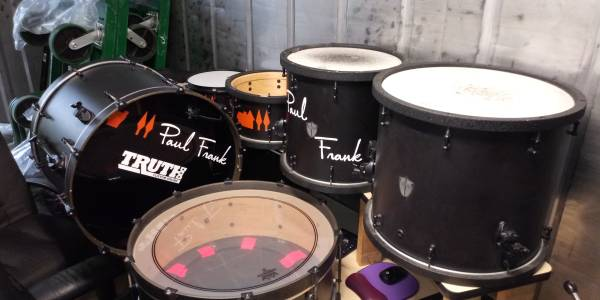 Photo TRUTH Custom Drums 6 Piece Drum Set - $1900 (Lakeland)