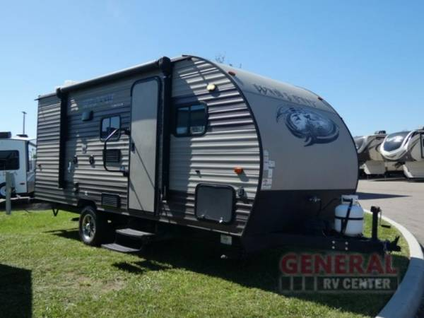 Photo Travel Trailer 2017 Forest River RV Cherokee Wolf Pup 18TO - $17,993