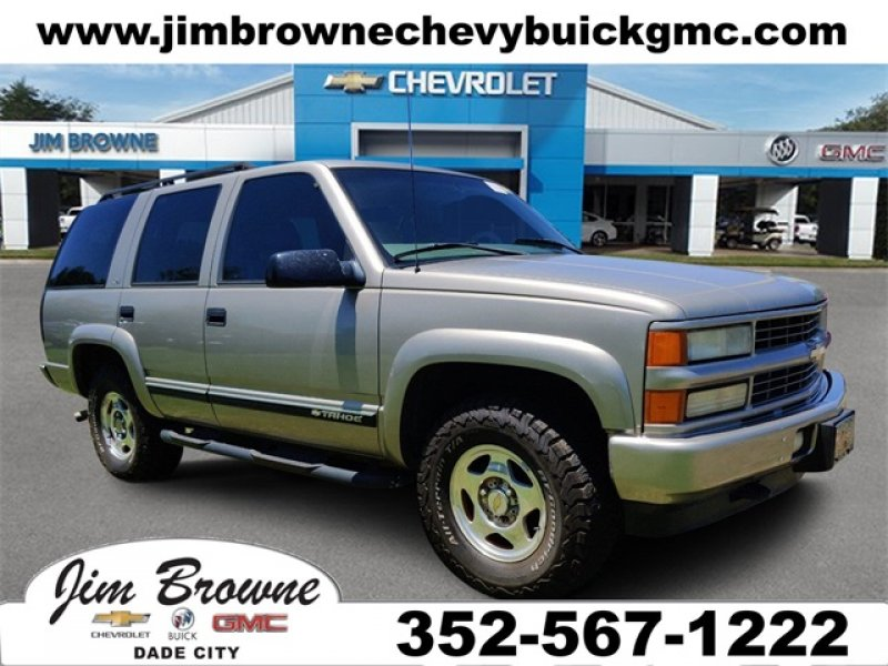Photo Used 2000 Chevrolet Tahoe 4WD Z71 for sale