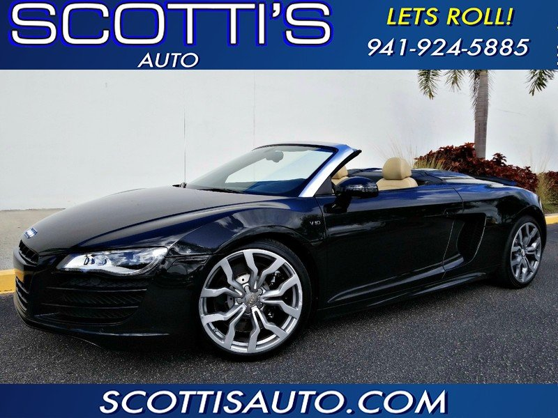 Photo Used 2011 Audi R8 5.2 Spyder for sale
