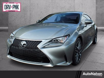 Photo Used 2017 Lexus RC 200t F Sport for sale