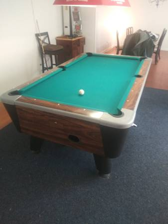 Photo Vally 7-foot Cougar Pool Table - $500 (Lakeland)