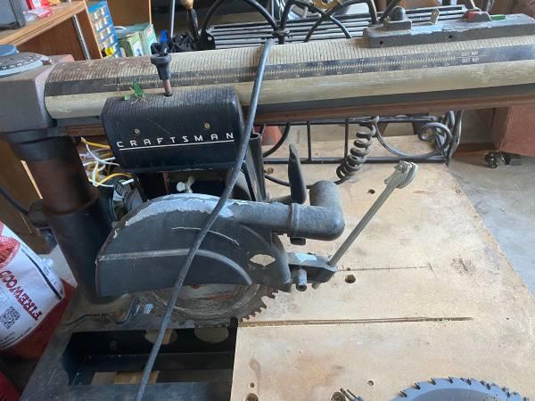 Photo Vintage Craftsman Radial Arm Saw - $200 (South Lakeland)