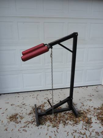 Photo Weight lifting equipment - calf raise and hack squat machine - $75 (NW Lakeland)