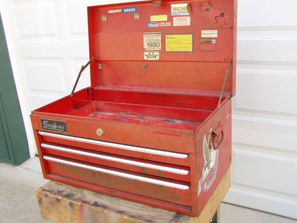 Photo 1976 Snap-on Top Tool Box - $75 (Craley - New Bridgeville)