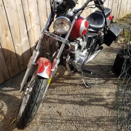 Photo 1985 Honda Rebel 250cc - $2,500 (Manheim)