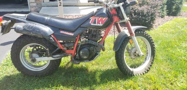 Photo 1988 Yamaha TW200 dual sport trail beast - $2,100 (Ephrata)