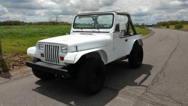 Photo 1988 jeep wrangler yj - $6500 (Stevens)