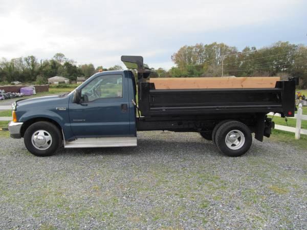 Photo 1999 Ford F350 XLT Dump Truck 7.3 L Diesel - $13,900
