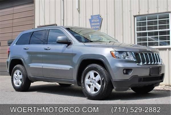 Photo 2012 Jeep Grand Cherokee Laredo 4x4 - 71,000 Miles - Local Trade - $15,900 (Christiana)