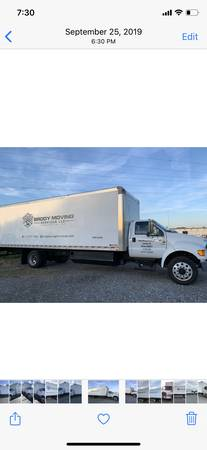 Photo 2015 Ford F-650 xlt box truck - $38000 (Lancaster)