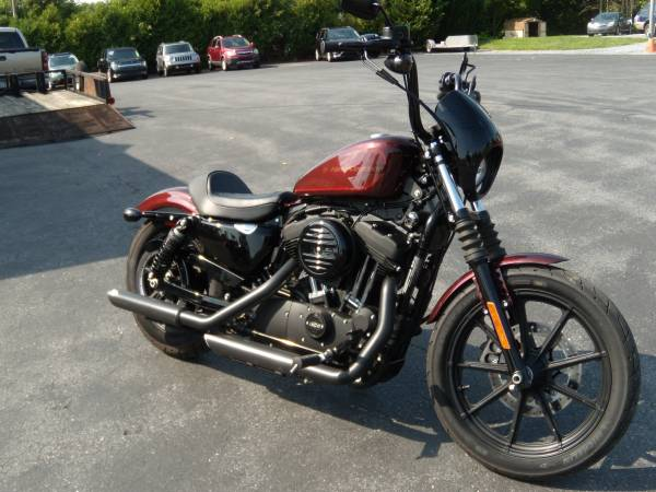 Photo 2019 HARLEY-DAVIDSON XL1200NS quotIRONquot SPORTSTER ONLY 3197 MILES - $8,995 (BROWNSTOWN PA)