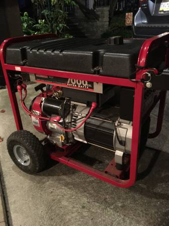 Photo 7000 Watt Generac Portable Generator - $400 (Cornwall Borough)