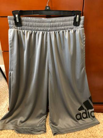 Photo Adidas men39s basketball gray shorts new without tags - $15 (Mountville)