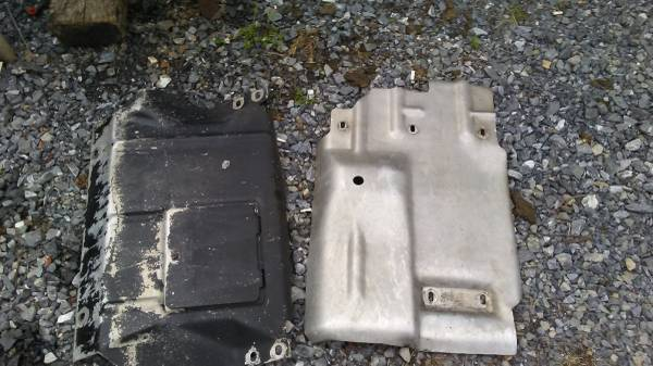 Photo Aluminum SKID PLATES for ZR2 S10 Chevy blazer or truck - $100 (new providence, PA)