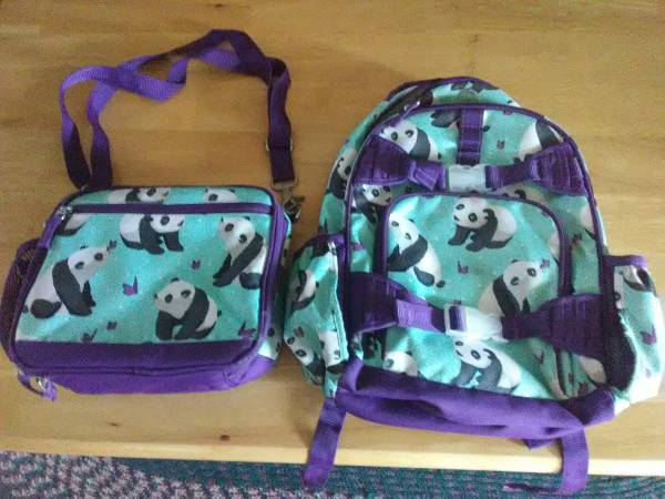 Photo Backpack  Lunchbox set - Pottery Barn Kids - $40 (New Holland)